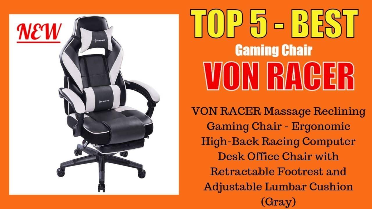 von racer addax gaming chair