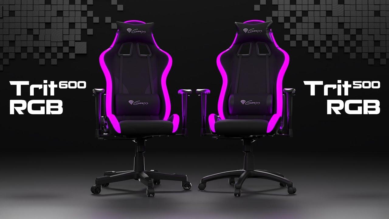 RGB gaming chair