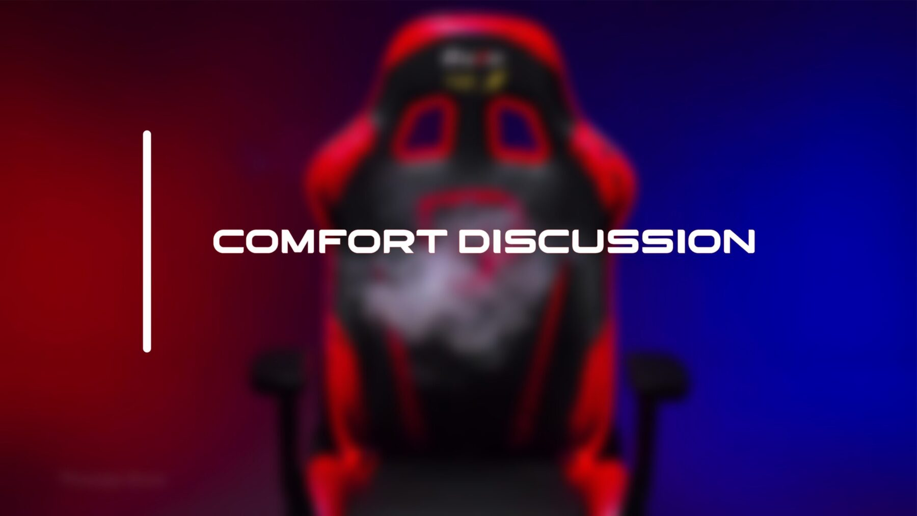 comfort and discussion