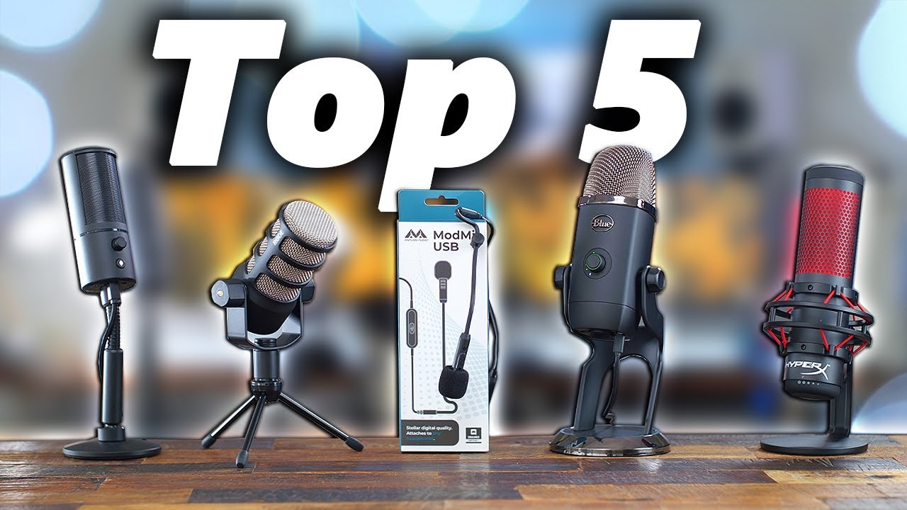 Top 5 Best Streaming Microphone – Best Microphone For Streaming Under $20