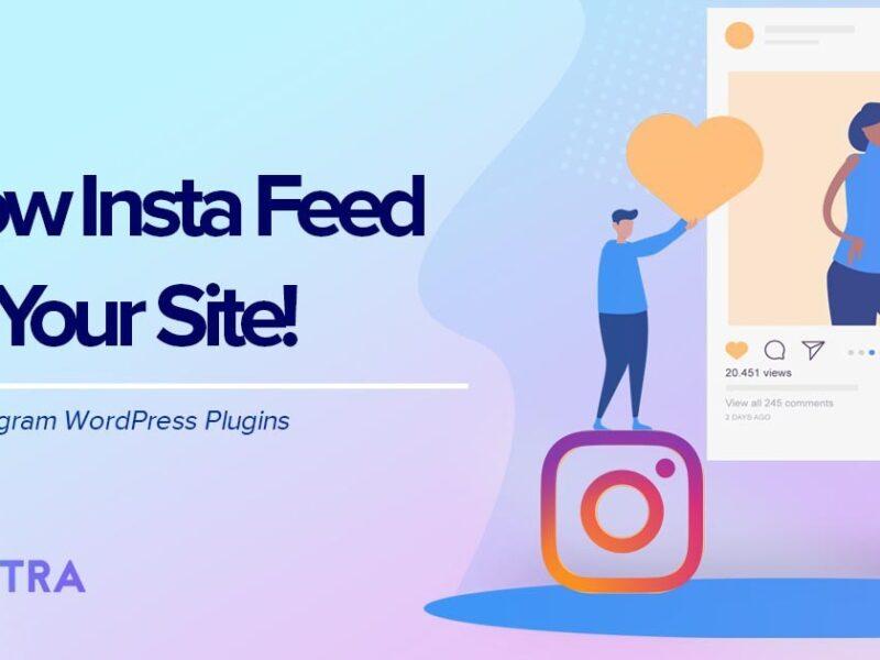 Dynamic feeds Presentation Plugins of WordPress Instagram