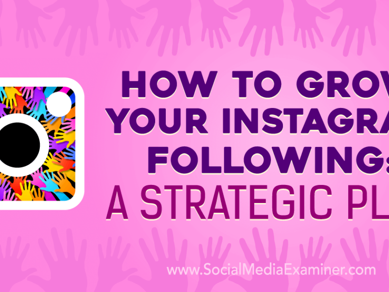How To Grow Your Brand With Instagram Following