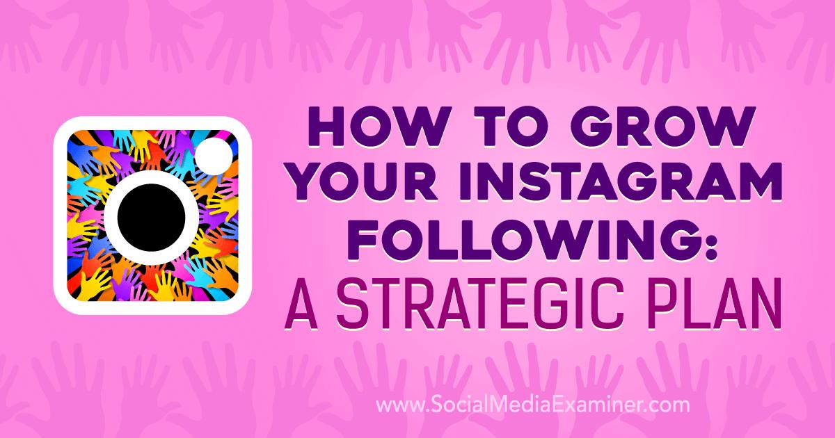 instagram growth strategy